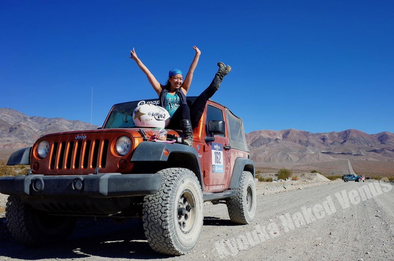 Go to the Desert with Sexy Jeep☆